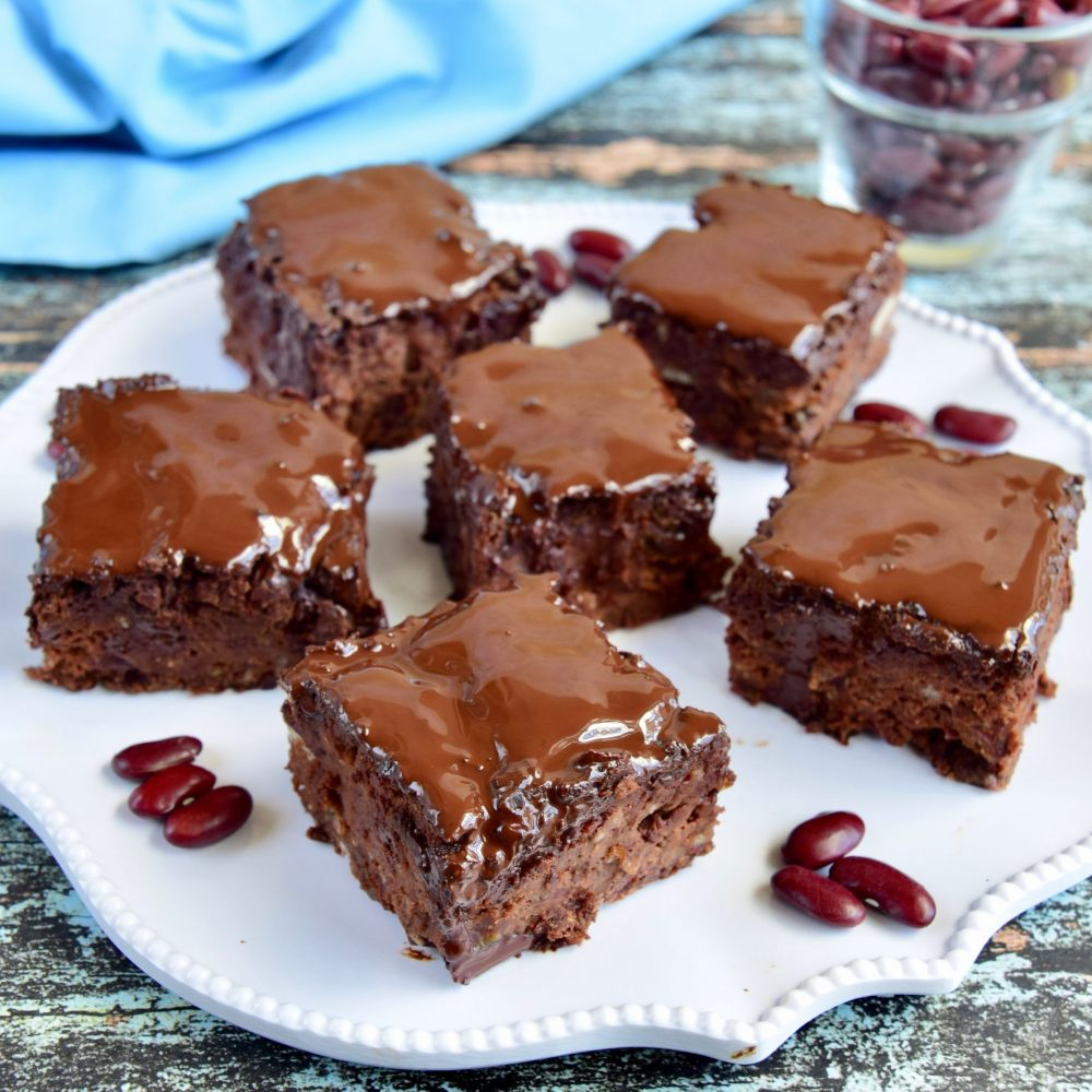 Brownies με κόκκινα φασόλια